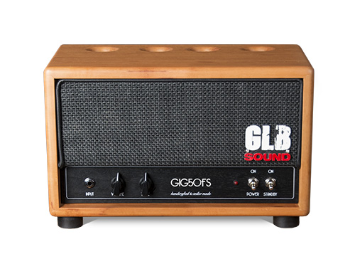 glb sound - gig50fs - head - valvestate amp - amplification lutherie - tonewood - handcrafted in italy