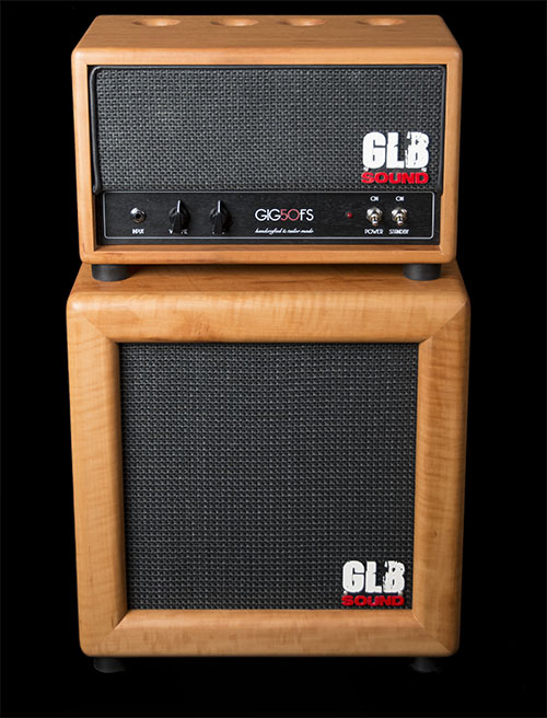 gig50fs - glb sound - leather cover - amplification - valvestate - cabinet - 1x12 - tonewood - technical specifications