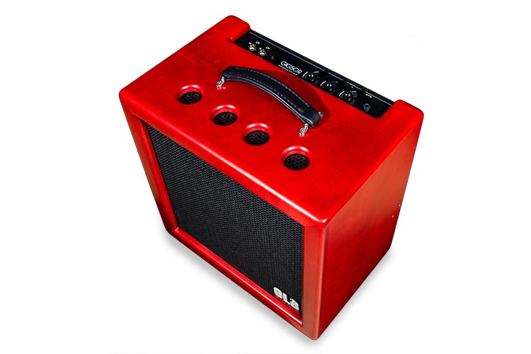 GIG50FS Combo Maple Red- Valvestate amp - GLB Sound