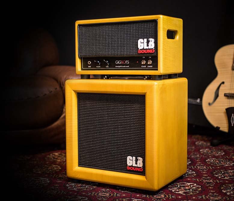 GIG50FS Yellow Head Cabinet - GLB Sound