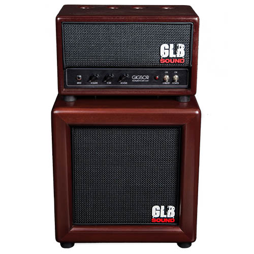 GIG50R - Head + Cabinet - GLB Sound - Valvestate setup designed for archtop
