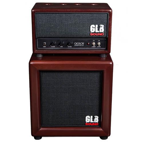 GIG50R - Head + Cabinet - GLB Sound - Valvestate setup designed for archtop